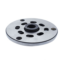 fundición de aleaciones de acero 6 orificios brida rueda