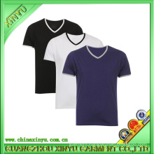 2016 OEM Short Sleeves Casual V Neck T-Shirts