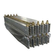 Portable rubber conveyor belt vulcanizing machine