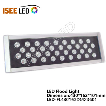 36W DMX LED RGB ضوء الفيضانات