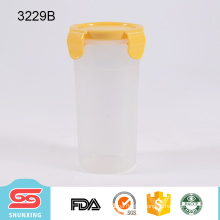 hot selling portable outdoor 450ml sport water bottle plastic with lid