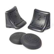 Dual Triggers Bonus Silicone Thumb Grip Caps Cover 4in1 Set para PS3 Controller