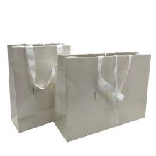 Printed Custom Printed Luxury Gift Logo Design Paper Shopping Bag