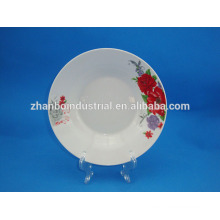 Professional Hot Sale Daily Used Promotion Ceramic Soup Plate