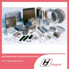 ISO/Ts16949 certificado permanente de neodímio alta qualidade anel personalizado permanente NdFeB/ímã do Neodymium para motores
