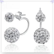 Joyería de la manera pendiente cristalino 925 joyería de la plata esterlina (se112)