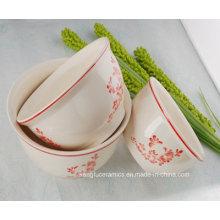 Cuenco de cerámica modificado para requisitos particulares venta caliente