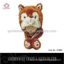 Fashion Animal Hat With Earflap