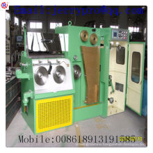 14DT(0.25-0.6) Copper fine wire drawing machine with ennealing(used wire drawing machine)