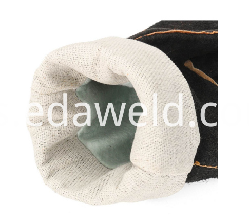 PU Leather Cowhide Protect Gloves