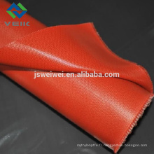 Gaine en fibre de verre enduite de silicone