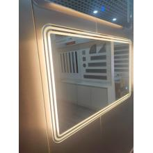 Espejo de baño rectangular LED MC16 (R50)