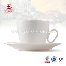 Different types of beautiful ceramic coffee cups costume