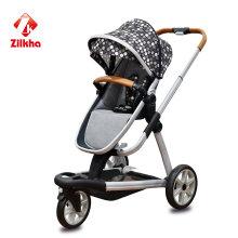 Kinderwagen mit Rahmen und Heißpresssitz