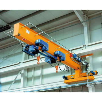 Heavy load column wall mounted jib crane