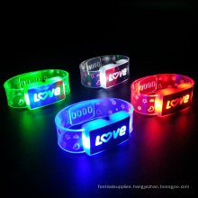 Valentine's Day Occasion Flashing Led love Wristband