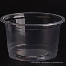 Bacia de plástico descartável de alta qualidade
