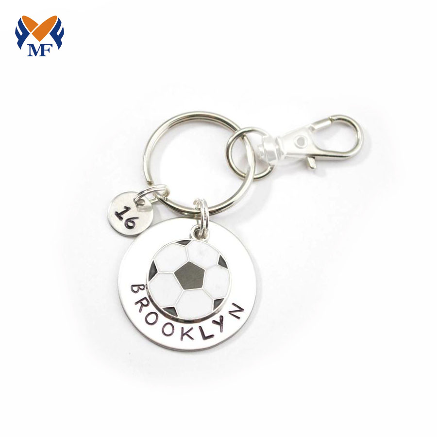 Stainless Steel Ball Chain Keychains