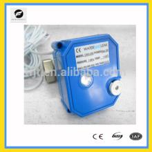 Válvula solenoide de agua abierta de 2 vías 1/2 pulgada 1 pulgada DC12V 220V con operación manual de anulación e indicador de posición