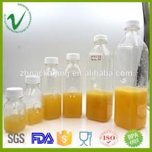 Le volume personnalisé en gros efface toute sorte de jus de bouteille en plastique Fournisseur en Chine