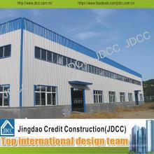 Fábrica de plantas Construcción Estructura de acero ligero