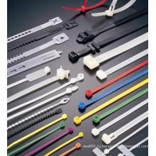 самостоятельной блокировки пластиковых кабеля нейлона галстук