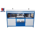 Semi auto double-station blister vacuum forming machine