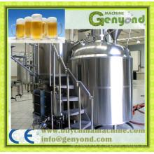 Máquina de processamento completa de cerveja cervejaria