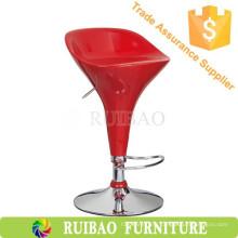 Fashional Удобный дешевый коммерческий красный пластик из ABS-пластика с подставкой для ног
