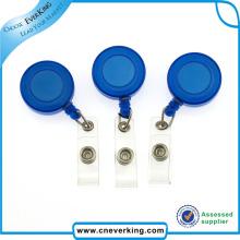 Fashion High Quality Plastic Retractable Badge Reel