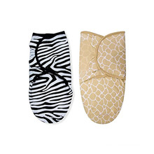 baby swaddle blanket wrap bamboo cartoon swaddle adjustable