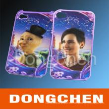 Caso del teléfono 3D de encargo para el iPhone / Samsung