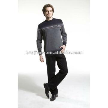 Stoll machine jacquard men's winter sweater