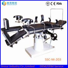 Ручные рентгенопрозрачные хирургические операционные столы общего назначения