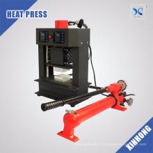 Mini presse hydraulique hydraulique nouvelle arrivée Plaques de chauffage double 20 tonnes Machine de pressage à la résine Rosin Dab