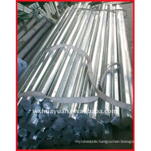 octagonal galvanized steel electrical post