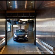 Elevador residencial auto móvil del garaje del sótano del estacionamiento del garaje del sótano