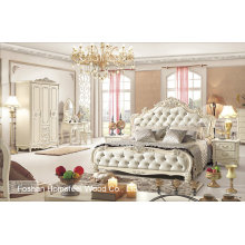 Belle chambre antique aménagée en style européen (HF-MG021)