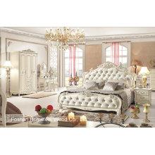 Beautiful Antique Bedroom Set em Estilo Europeu (HF-MG021)