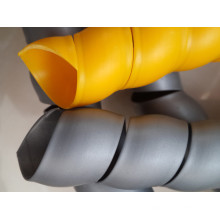 Proteção de mangueira de plástico colorido de venda quente para mangueira de óleo