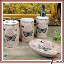 Baño de mariposa de cerámica conjunto