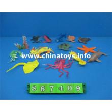 Venta caliente de juguete de plástico Marine Aminal (867409)