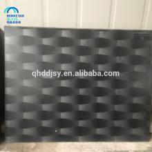 vidrio de impresión de pantalla de seda decorativo personalizado para sala de estar