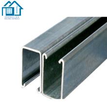 Профили стальные оцинкованные размеры канала U стальной