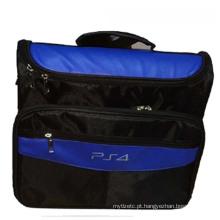 Gamepad Bolsa de viagem Carry Case Cover Carry saco de proteção de saco de ombro para acessórios de console PS4