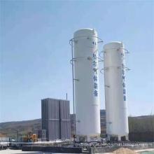 Tanque de armazenamento de nitrogênio líquido 30CBM Vertical / Horizontal
