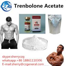 Acetato esteróide de Trenbolone das hormonas anabólicas do halterofilismo do acetato de Tren
