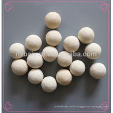 High Hardness Wear Resistance Ceramic Alumina Pebble Ball With Density 3.7g/Cm3