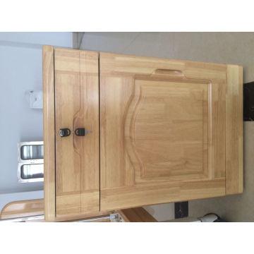 Gabinete de cabeceira de madeira real para cuidados com a casa