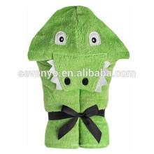 Alligator-Soft Baby Bio 100% Baumwolle für Bad, Strand, Pool, Baby und Kind Kapuzenhandtuch, niedliche Tier Handtuch verwenden